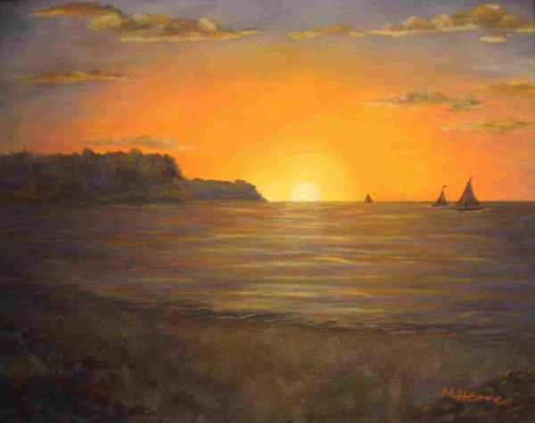 1-lake-erie-sunset-mary-henne